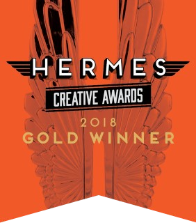 2018 Gold Hermes Creative Award