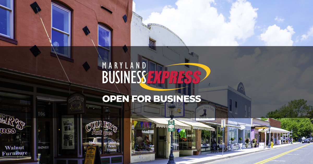 Maintain Good Standing Status Maryland Business Express Mbe
